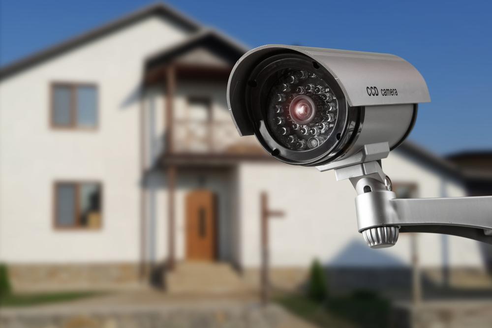 Einbruchschutz - Versteckte Kamera